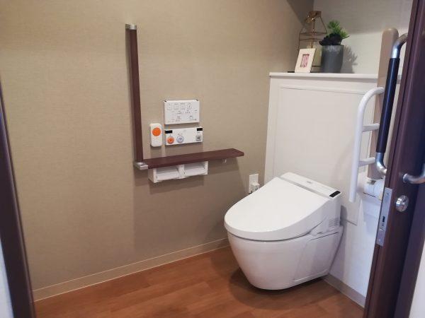 ウェルケアガーデン深沢室内トイレ